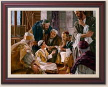 Jesus Speaks to the Learned Pharisees