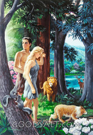 Adam and Eve Leave Paradise